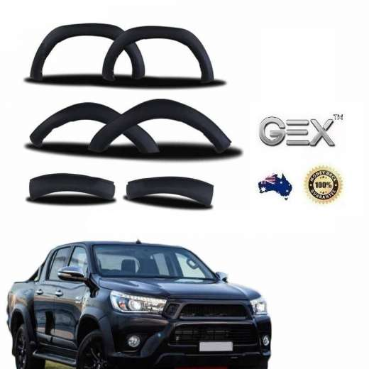 Toyota Hilux Rogue Rugged X 2018-2019Fender Flares Wheel Arches