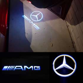 best price Mercedes CLS CLA C207 Projector Courtesy Puddle Shadow Light Logo