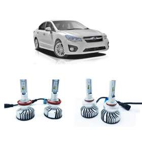Subaru Impreza 2012-2016 Lumiled Hi Low Beam LED Headlights Kit