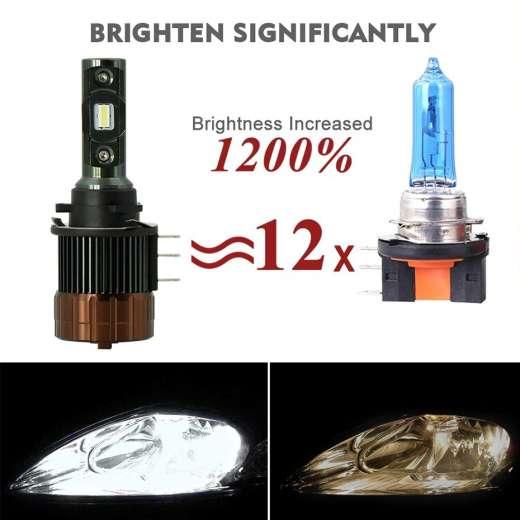 Gex Super Bright H15 High Beam DRL Conversion Kit